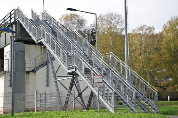 Treppenanlage einer Schleuse